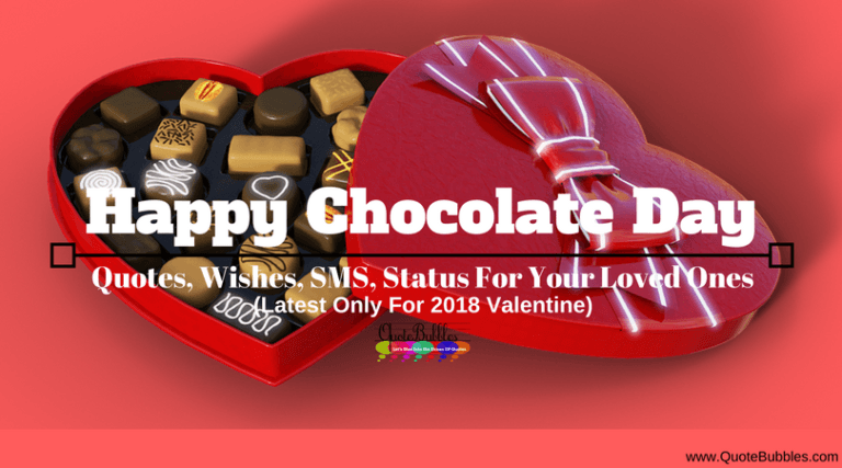 Happy Chocolate Day Quotes & Greetings [2021] – QuoteBubbles