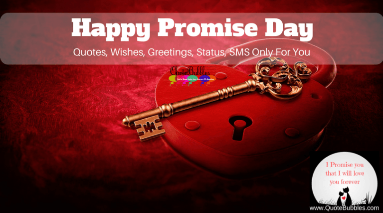 Happy Promise Day Quotes And Greetings [2021] – QuoteBubbles